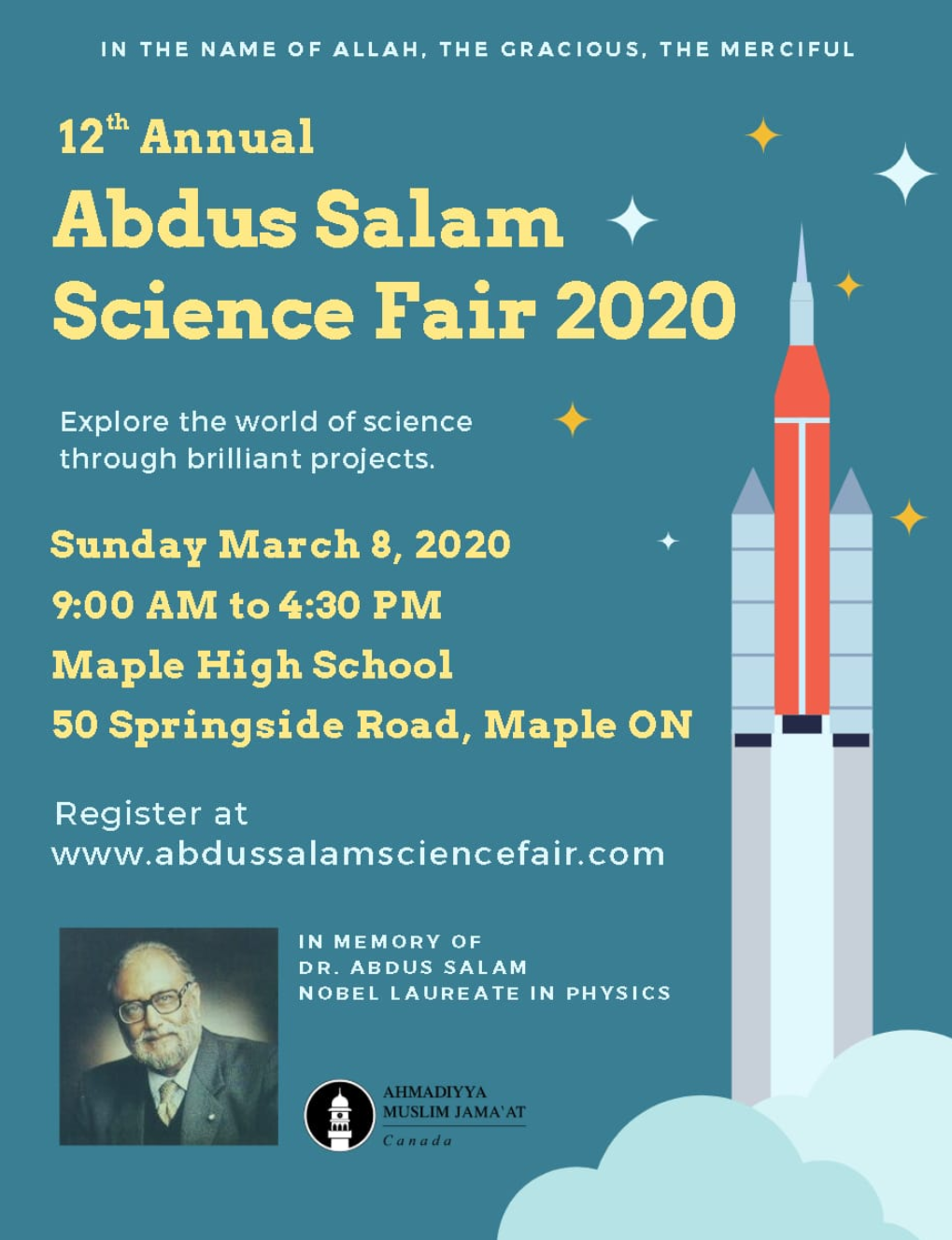 Abdus Salam Science Fair
